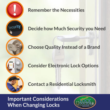 Necessary Considerations When Changing Locks