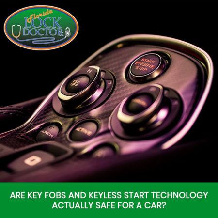 Keyless Start Versus Traditional car keys