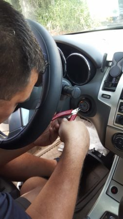 A Customer With a Broken Car Key Has Been Assisted
